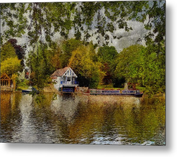 Riverview Vi Metal Print