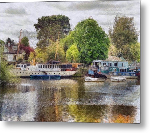 Riverview Vii Metal Print