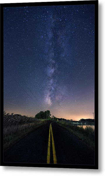Road To Blackwater Metal Print