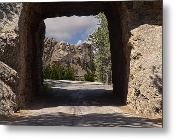 Road To Mt. Rushmore Metal Print