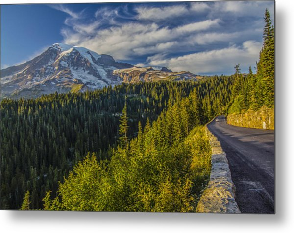 Road To Paradise Metal Print