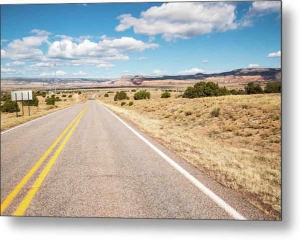 Road To San Ysidro Metal Print