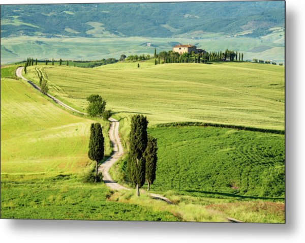 Road To Terrapille Metal Print