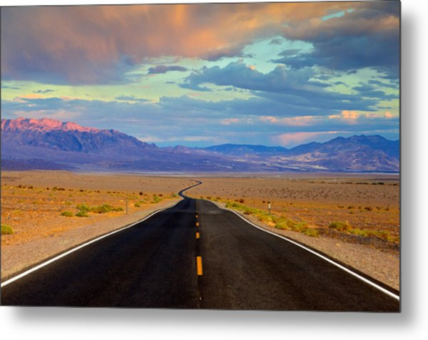 Road To The Dreams Metal Print