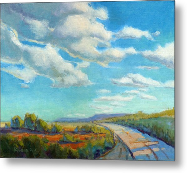 Metal Print featuring the painting Road Trip 2 by Konnie Kim