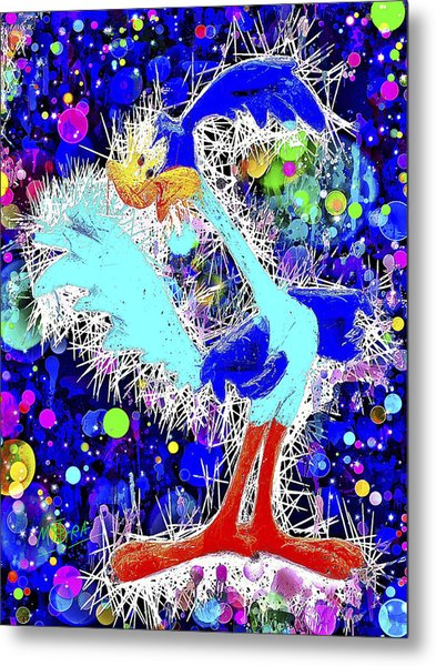 Road Runner Metal Print