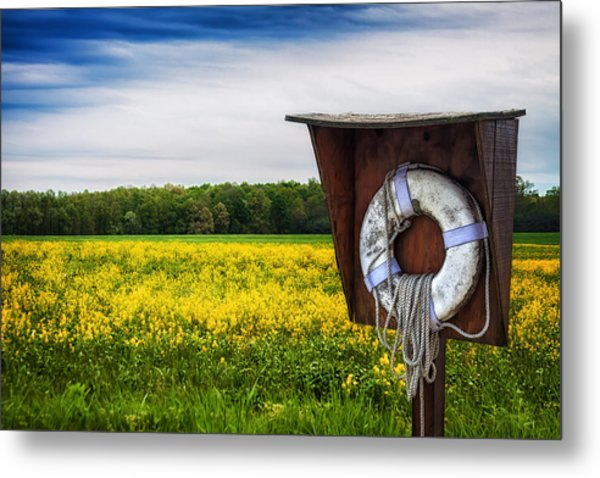 Roadside Assistance Metal Print