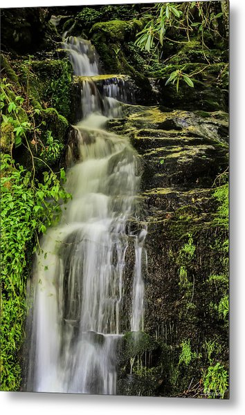 Roadside Waterfall Metal Print
