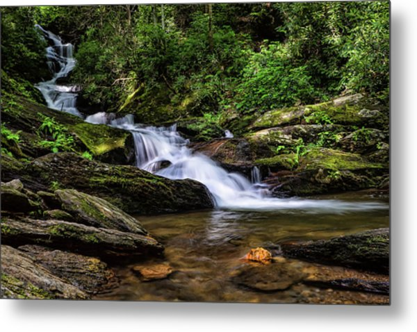Roaring Fork Waterfall Metal Print
