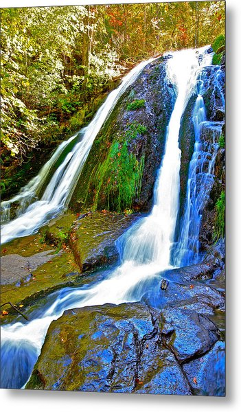 Roaring Run Falls State Park Virginia Metal Print