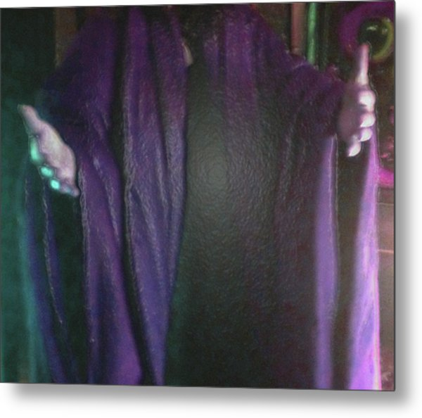 Metal Print featuring the digital art Robed Arms by Michelle Audas