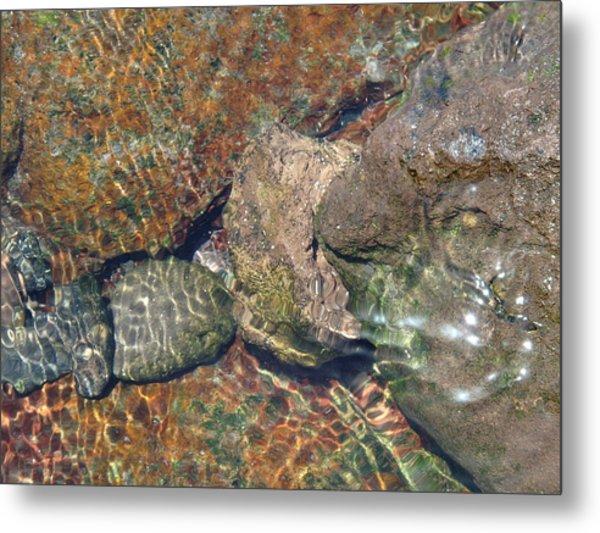 Atlantis - Beauty Of Stones And Water Metal Print