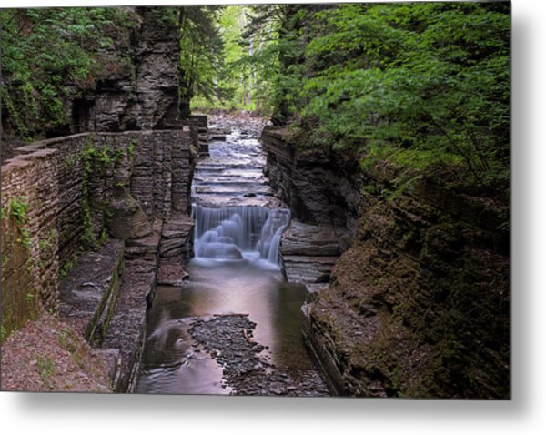 Robert H. Treman State Park Canal 2 Ithaca Ny Metal Print