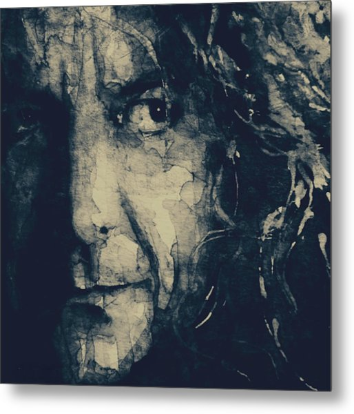 Robert Plant - Led Zeppelin Metal Print
