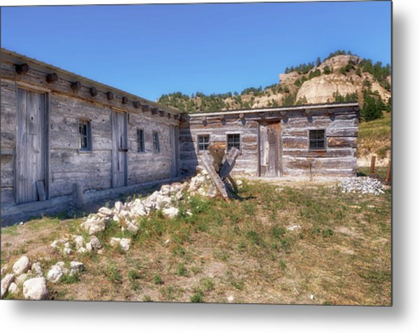 Metal Print featuring the photograph Robidoux Trading Post by Susan Rissi Tregoning