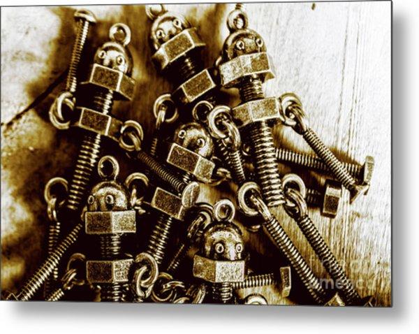 Roboltics Metal Print