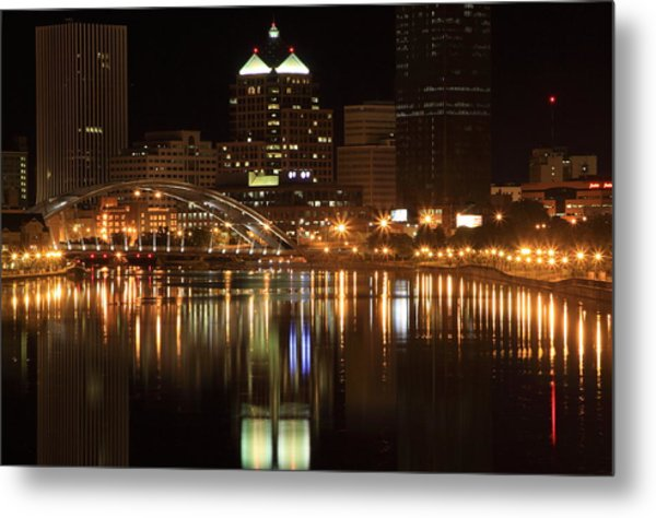 Rochester On The Genesee Metal Print