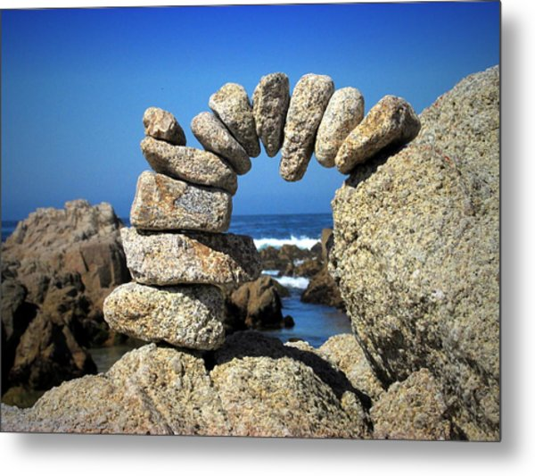 Rock Art One Metal Print