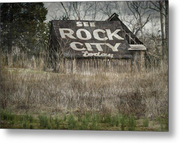 Rock City Metal Print