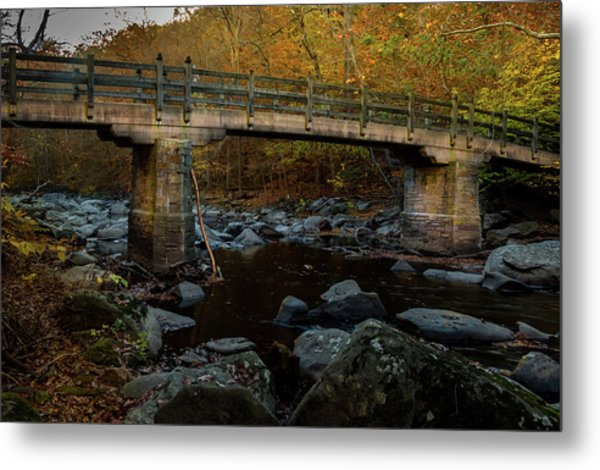 Rock Creek Park Bridge Metal Print