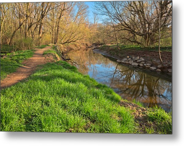 Rock Creek Spring Metal Print