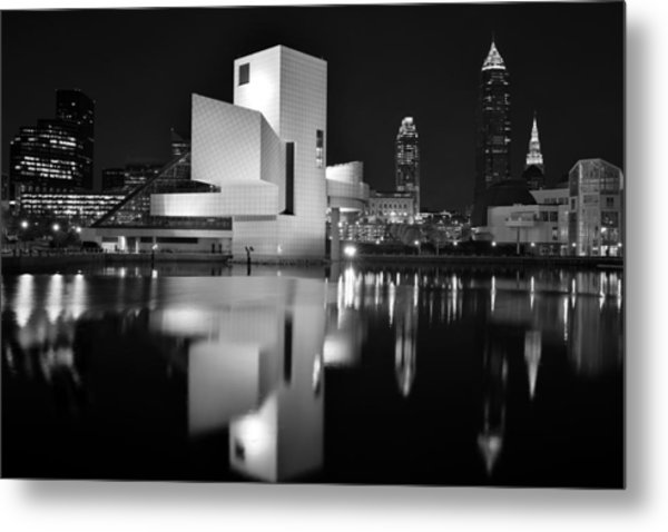 Rock Hall Reflections Metal Print