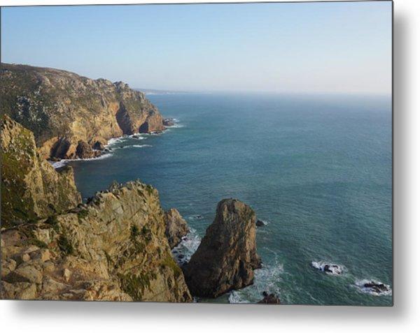 Rocks Near To Cabo Da Roca Metal Print