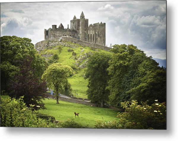 Rock Of Cashel Cashel County Tipperary Metal Print