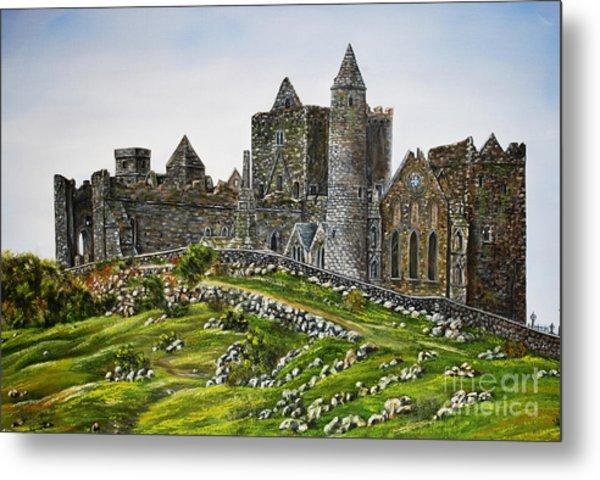 Rock Of Cashel Ireland Metal Print by Avril Brand