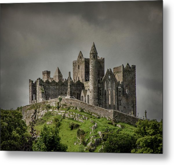 Rock Of Cashel Metal Print