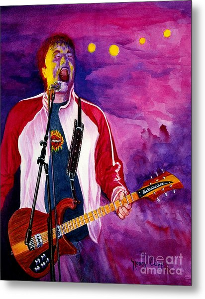 Rock On Tom Metal Print