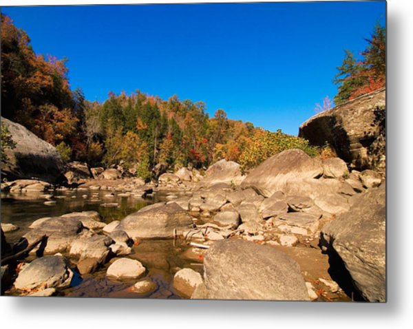 Rock Scape Metal Print by William Furguson