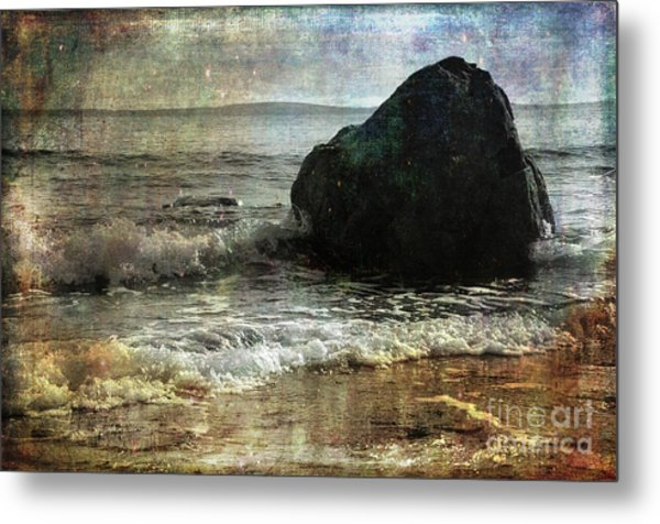 Rock Steady Metal Print