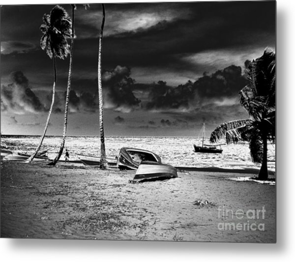 Rock The Boat Extreme Metal Print