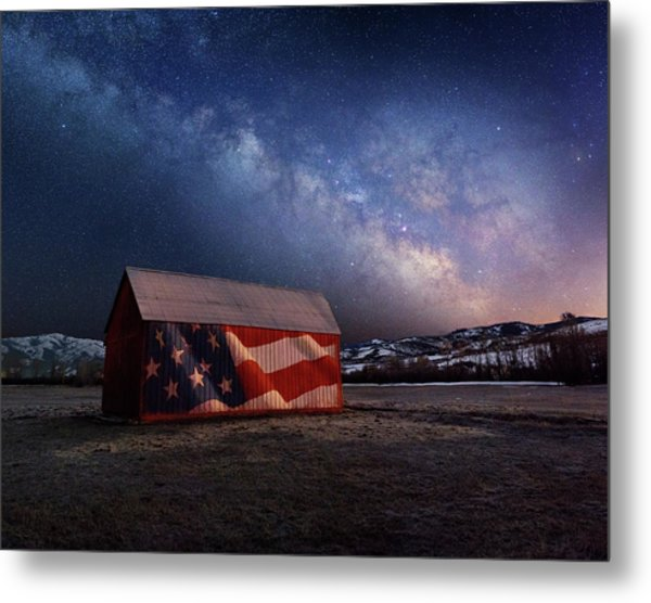 Proof Through The Night Metal Print