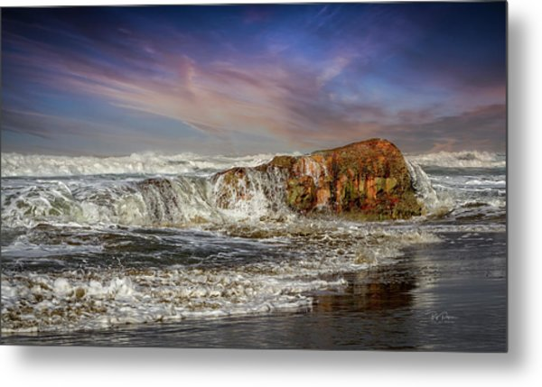 Rockin' The Coast Metal Print