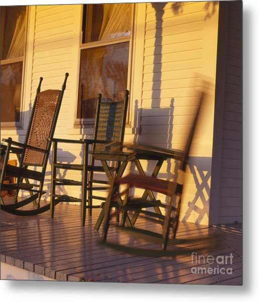 Rocking Chair Metal Print