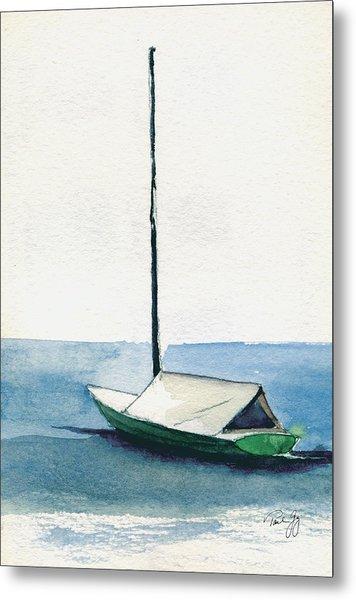 Rockport Boat Study Metal Print