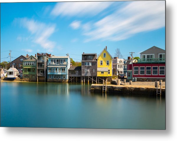 Rockport Dock Metal Print