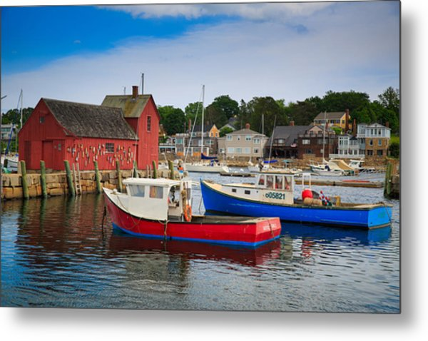 Rockport Harbor 2 Metal Print