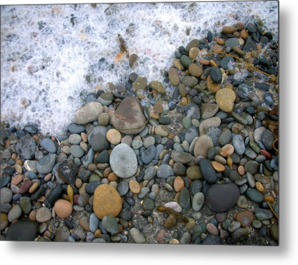 Rocks And Pebbles Metal Print