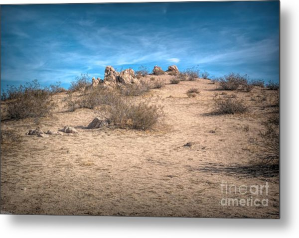 Rocks On The Hill Metal Print