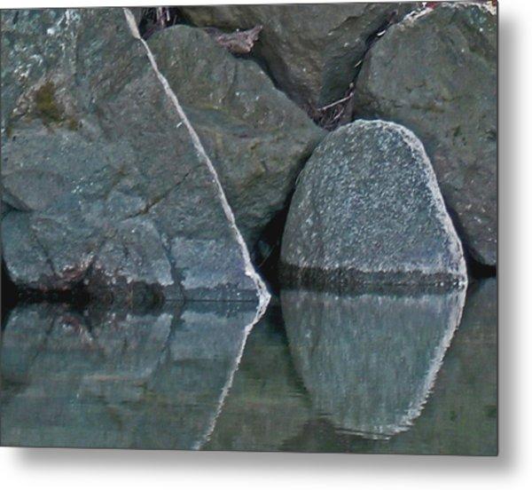 Rocks Metal Print by Wilbur Young