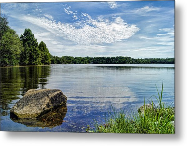 Rocky Fork Lake Metal Print