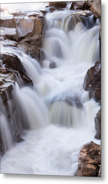 Metal Print featuring the photograph Rocky Gorge Falls by Michael Hubley