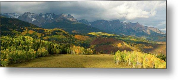 Rocky Mountain Fall Metal Print