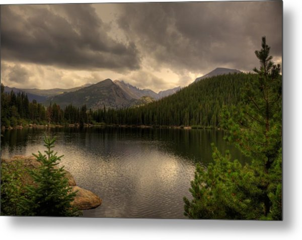 Rocky Mountain National Park Lake Metal Print by Patrick  Flynn