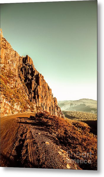 Rocky Mountain Route Metal Print