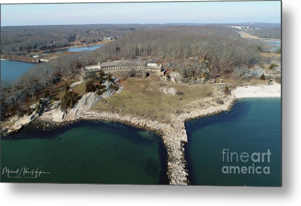 Rocky Neck Paviliion Metal Print