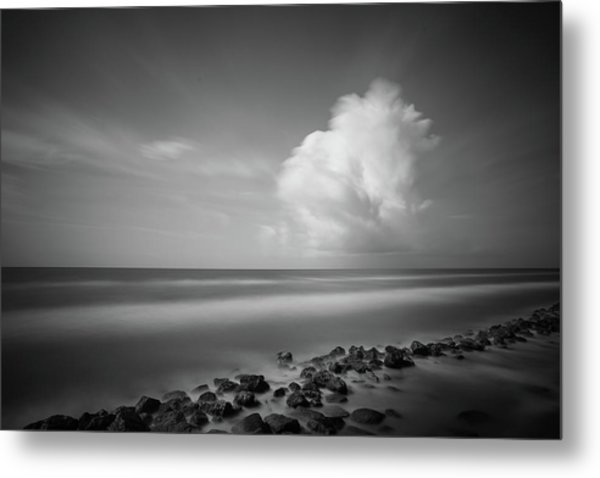 Metal Print featuring the photograph Rocky Shoreline by Todd Aaron